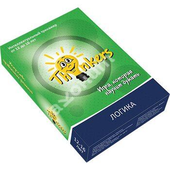 Thinkers. Логика. Интеллектуальная игра. 12-16 лет (100 карточек)