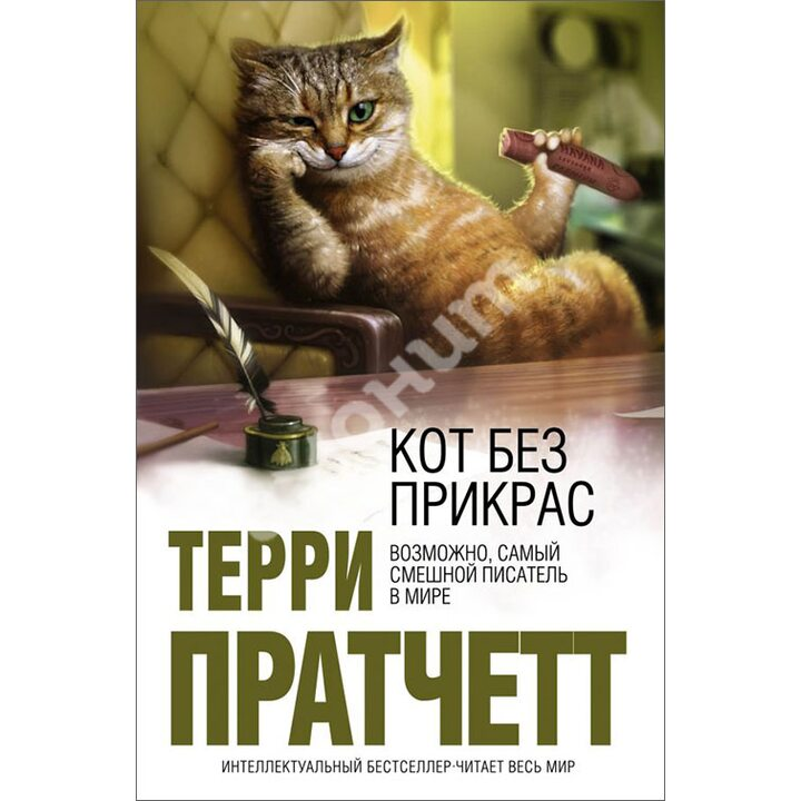Кот без прикрас - Терри Пратчетт (978-5-699-37130-3)