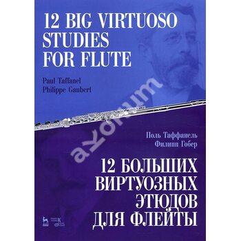 12 больших виртуозных этюдов для флейты