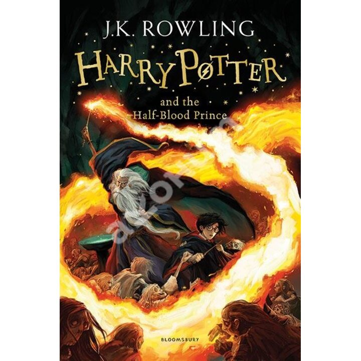 Harry Potter and the Half-Blood Prince - Joanne Rowling (978-1-4088-5570-6)