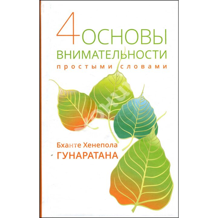 4 основы внимательности простыми словами - Бханте Хенепола Гунаратана (978-5-9909602-0-6)