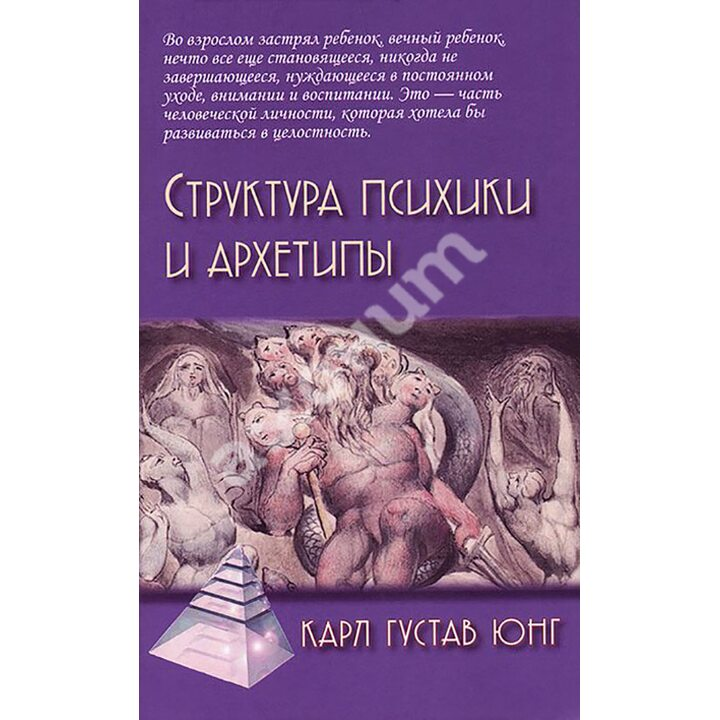 Структура психики и архетипы - Карл Густав Юнг (978-5-8291-1811-2)
