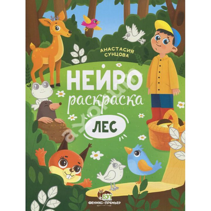 Лес. Книжка-раскраска - Анастасия Сунцова (978-966-925-299-9)