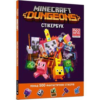 Minecraft Dungeons. Стікербук