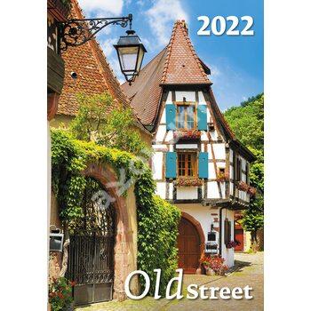 Календар Old Street ( Старі вулички ) 2022
