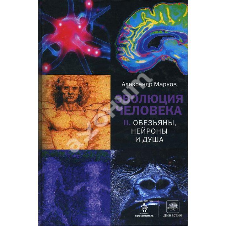 Эволюция человека. Книга 2. Обезьяны, нейроны и душа - Александр Марков (978-5-17-078089-1)
