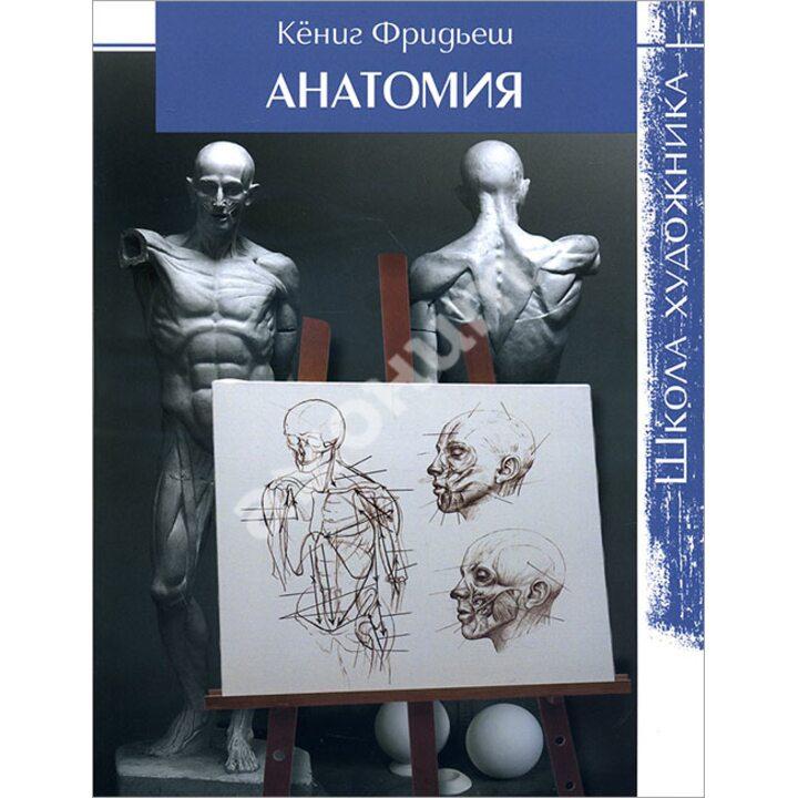 Анатомия. Школа художника - Кёниг Фридьеш (978-5-91906-531-9)