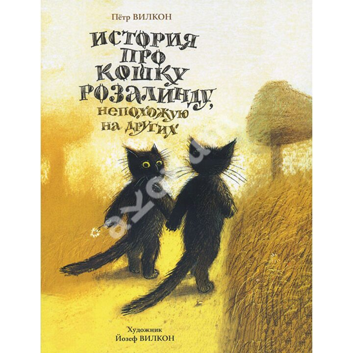 История про кошку Розалинду, непохожую на других - Петр Вилкон (978-5-00041-108-7)
